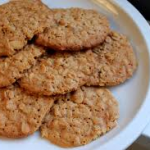 Honey And Nut Biscuits