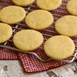 Honey Shortbread Biscuits