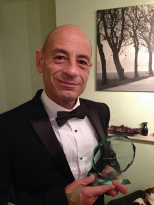 Paul Vagg awarded British Small Business Of The Year 2016.