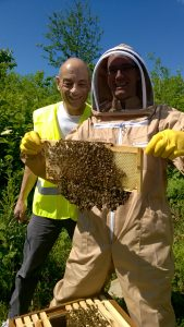 Beekeeping Student