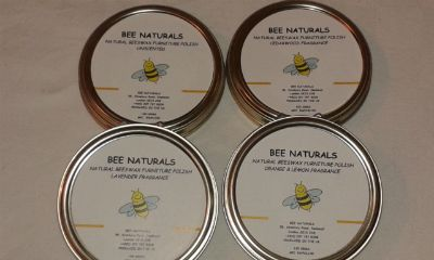Handmade Beeswax Furniture Polish